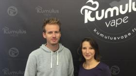 Les associés Rémi Baert et Astrid Menut.