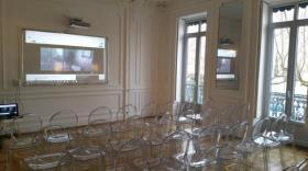 Salle i.ROOM de La Rive.