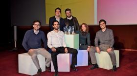 Les lauréats Lyon StartUp 2016.