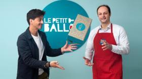 Martin Ohannessian, cofondateur du Petit Ballon et Jean-Alexandre Manchès, directeur général de Cogip.