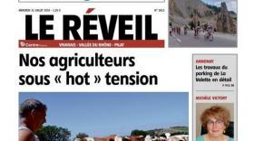 Le Réveil du Vivarais - bref eco