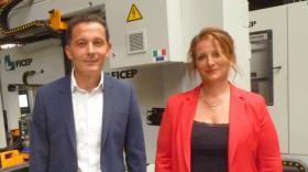 Arnaud Pellegrini et Sylvie Husson, les dirigeants de Kapeci.