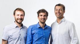 Nicolas Paget, Guénaël Prince et Mathieu Lefebvre, cofondateurs de Waga Energy peuvent avoir le sourire.