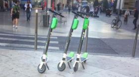 Trottinettes Lime - Bref Eco
