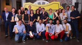 Les lauréats Lyon Shop Design.
