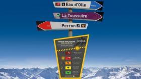 panneaux indicateurs numérisés Lumiplan Montagne, brefeco.com