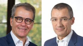 Frédéric Maurel, président de Lyon Place Financière et Guillaume Robin, président de Lyon Pôle Bourse