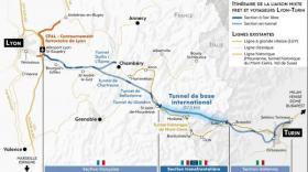 L'Union européenne plus motivée que la France sur le Lyon-Turin