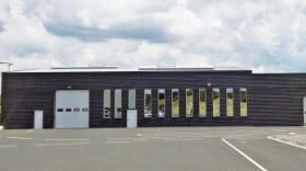 Le nouveau bâtiment de Massacrier SAS à Palladuc