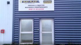 Les nouveaux locaux de Mat Plast à Bellignat
