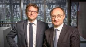 Mathieu Charvériat et Franck Mouthon, cofondateurs de Theranexus.