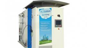 Station de recharge hydrogène Mc phy