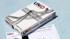 Avec Unid, Medicrea fabrique des implants vertébraux sur-mesure.