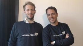 Clément Venard et Alexandre Nicolet, cofondateurs de MonSenior, brefeco.com