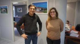 Les gérants de MPM, Damien et Virginie Rollet,