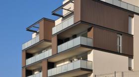 Le Vesta en façade d'immeuble