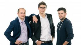 Côme de Sereys, Benjamin Jeantet et Maxime Vignon de Nexenture