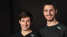 Maugan Peniguel et Nathan Vitu, brefeco.com