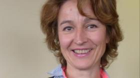 Armelle Bourden, directrice de l'agence entreprises Centre-Est