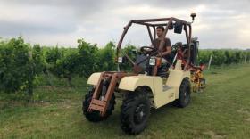 Tracteur électrique Sabi Agri, brefeco.com