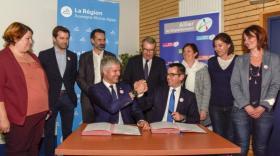 """Un historique """"Pacte Régional Allier"""" de 100 millions d'euros"""
