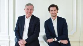 Patrick Bertrand et Alexandre Aulas Club Holnest - bref eco