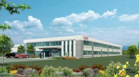 L'ensemble immobilier industriel sera réalisé pour l'américain Lord Corporation.