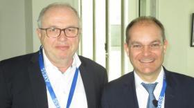 Gilles Trehiou, le président fondateur d'Axess Groupe, et Pierre-Alexandre Fuhrmann, son directeur général