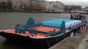 La déchetterie fluviale