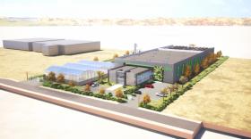 Vue 3D de la future usine de SFly. Bref eco