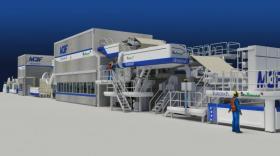 La machine Allimand va équiper l'imprimerie de la Banque de France à Allimand.