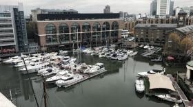 Marina des St. Katharine Docks de Londres
