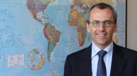 René Colombel, président du directoire de Precia Molen.