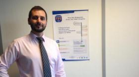 Frédéric Salliot coordonne le réseau des correspondants TPE à la Banque de France.