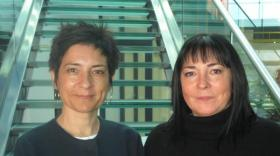 Joelle Daumas et Patricia Blondeau