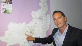 Julien Michelon, directeur de VRD.