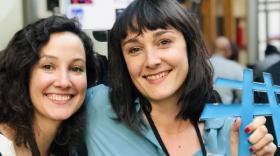 Aurore Thibaud et Perrine Bailly, cofondatrices de la start-up auvergnate Laou - bref eco