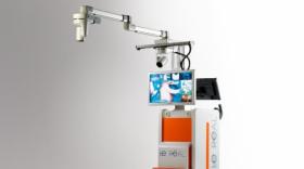 Le Réal, premier studio vidéo mobile de bloc opératoire.