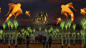 place bellecour fête des lumières - bref eco