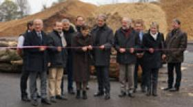 Inauguration du Pôle Bois du Grésivaudan à Goncelin
