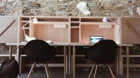 L'espace de coworking lyonnais Polygones, basé dans une église évangélique protestante, a ouvert en octobre 2016.