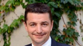 Gaël Perdriau, président de Saint-Etienne Métropole.