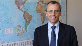 René Colombel, président du directoire de Precia Molen. - bref Eco