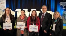 """Trois étudiantes distinguées par le prix """"femmes et technologies"""""""