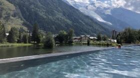 Le centre de bien-être de Chamonix.