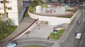 La future station de la Dhuis