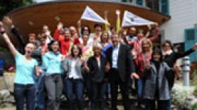 Rencontre au sommet à Chamonix