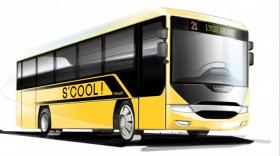 Le S'Cool nouveau modèle de Vehixel pour le transport scolaire.