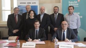 Une première convention bilatérale Région/Département pour le tourisme haut-savoyard