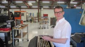Franck Minair, directeur général de Smoc Industrie.